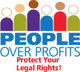 People Over Profits Website